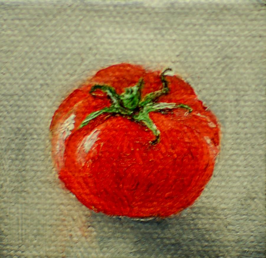 Smallest Tomato – 2″ x 2″.