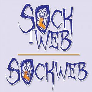 Sockweb logo design by Mandy Maxwell